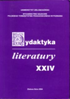 Dydaktyka Literatury, t. 24
