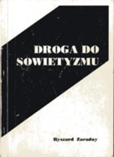 Droga do sowietyzmu