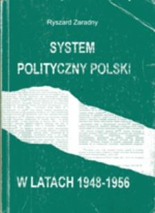 System polityczny Polski w latach 1948-1956