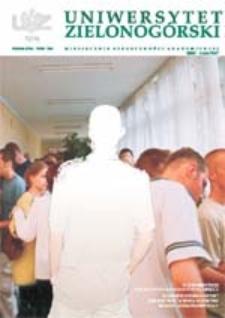 Uniwersytet Zielonogórski, 2003, nr 7 (lipiec)