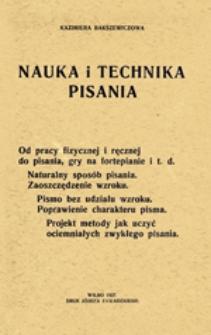 Nauka i technika pisania