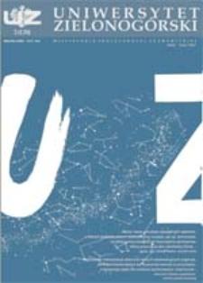 Uniwersytet Zielonogórski, 2004, nr 2 (luty)