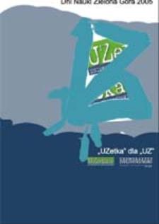 UZetka dla UZ: Dni Nauki 2005 (dodatek do numeru 7/2005)
