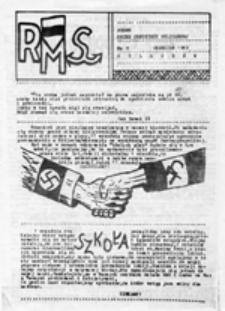 RMS: Pismo Ruchu Młodzieży Solidarnej, nr 9 (wrzesień 1989)