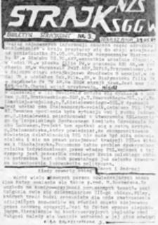 Strajk: biuletyn strajkowy, nr 1 (26. 05. 89)