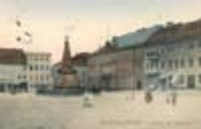 Kostrzyn Stare Miasto / Cüstrin - Altstadt; Markt mit Rathaus; Rynek z Ratuszem