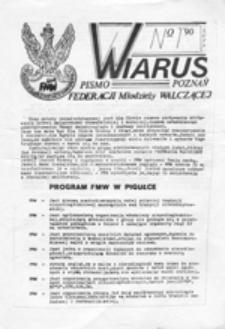 Wiarus: pismo Federacji Młodzieży Walczącej, nr 1 (luty)