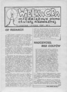 Wielka gra: młodzieżowe pismo oświaty niezależnej, nr 8 (luty 1988)