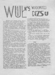 WUŁ: wiadomości NZS UŁ, nr 5 (kwiecień '89)