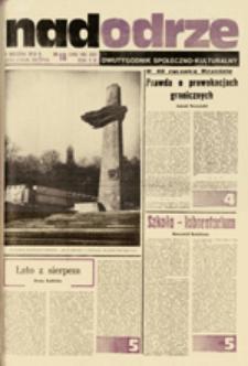 Nadodrze: dwutygodnik społeczno-kulturalny, nr 18 (2 września 1979)