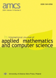 International Journal of Applied Mathematics and Computer Science (AMCS) 2004 Volume 14 Number 2