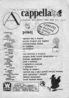 "A Capella : nieregularnik Ruchu ""Wolność i Pokój"", Gdańsk nr 8"