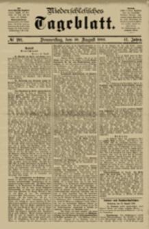 Niederschlesisches Tageblatt, no 281 (Sonnabend, den 1. Dezember 1883)