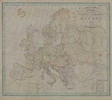 Charte zur Uebersicht der Regierungsformen in Europa im Jahre 1817