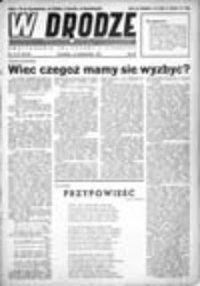 W drodze: dwutygodnik polityczny i literacki, Rok III, Nr 1(43) (1 stycznia 1945)
