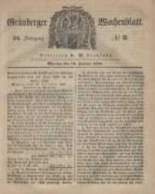 Grünberger Wochenblatt, No. 3. (10. Januar 1848)