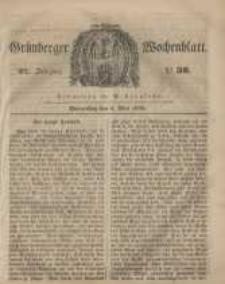 Grünberger Wochenblatt, No. 36. (4. Mai 1848)