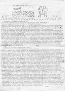 Koliber: KOnserwatywno LIBERalne pismo młodzieży, nr 3 (15 - 31 styczeń 1986)