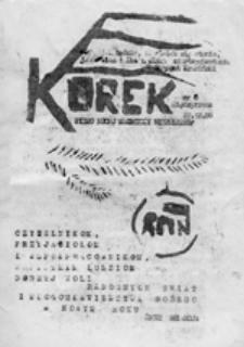 KOREK: Pismo Ruchu Młodzieży Niezależnej, nr 15 (14 wrzesień '89)