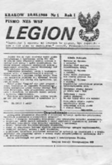 Legion: pismo NZS WSP, nr 4 (88.06.03)