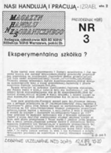 Magazyn Handlu Zagranicznego NZS, nr 3 (październik 1989)