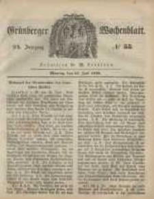 Grünberger Wochenblatt, No. 55. (10. Juli 1848)