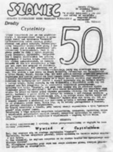 Szaniec: młodzieżowy biuletyn informacyjny, nr 109 (28 listopada 1988)