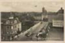 Gubin / Guben; Partie an der Neißebrücke