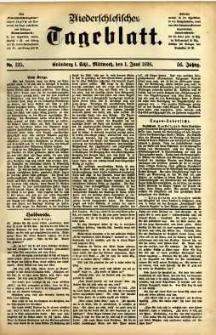 Niederschlesisches Tageblatt, no 125 (Grünberg i. Schl., Mittwoch, den 1. Juni 1898)