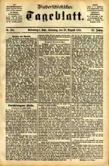 Niederschlesisches Tageblatt, no 201 (Grünberg i. Schl., Sonntag, den 28. August 1898)