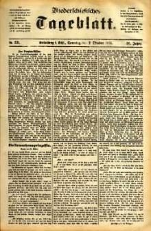Niederschlesisches Tageblatt, no 231 (Grünberg i. Schl., Sonntag, den 2. Oktober 1898)