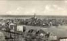 Krosno Odrzańskie / Crossen a. O. im Hochwasser; w czasie powodzi