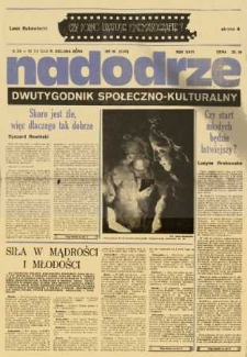 Nadodrze: dwutygodnik społeczno-kulturalny, nr 19 (5-18 grudnia 1982)