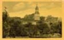 Jasień / Gassen; Blick die evgl. Kirche; Widok na kościół ewangelicki