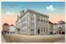 Kożuchów / Freystadt i[n]. Schl.[esien]; Rathaus; Ratusz