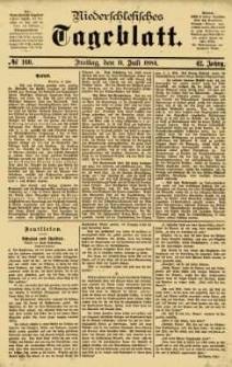 Niederschlesisches Tageblatt, no 160 (Freitag, den 11. Juli 1884)