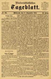 Niederschlesisches Tageblatt, no 296 (Mittwoch, den 17. Dezember 1884)