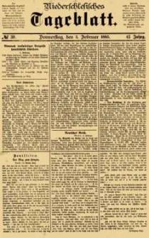 Niederschlesisches Tageblatt, no 30 (Donnerstag, den 5. Februar 1885)