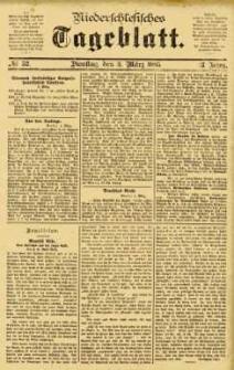 Niederschlesisches Tageblatt, no 52 (Dienstag, den 3. März 1885)