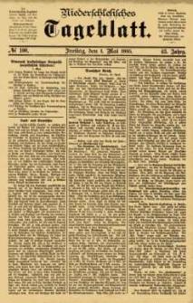 Niederschlesisches Tageblatt, no 100 (Freitag, den 1. Mai 1885)