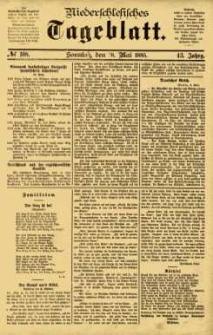 Niederschlesisches Tageblatt, no 108 (Sonntag, den 10. Mai 1885)