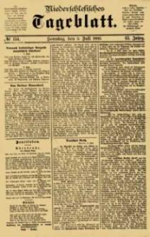 Niederschlesisches Tageblatt, no 154 (Sonntag, den 5. Juli 1885)