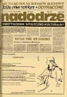 Nadodrze: dwutygodnik społeczno-kulturalny, nr 11 (22 maja-4 czerwca 1983)