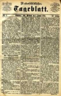 Niederschlesisches Tageblatt, no 3 (Grünberg i. Schl., Mittwoch, den 4. Januar 1893)