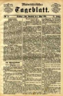 Niederschlesisches Tageblatt, no 54 (Grünberg i. Schl., Sonnabend, den 4. März 1898)