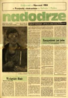 Nadodrze: dwutygodnik społeczno-kulturalny, nr 6 (11 marca-24 marca 1984)