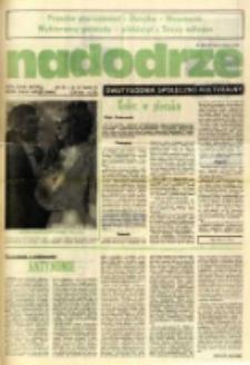 Nadodrze: dwutygodnik społeczno-kulturalny, nr 6 (24 III - 6 IV 1985 R.)