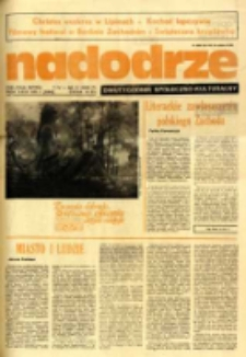Nadodrze: dwutygodnik społeczno-kulturalny, nr 7 (7 IV - 20 IV 1985 R.)