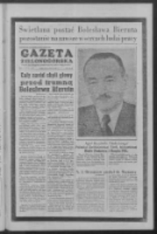 Gazeta Zielonogórska : organ KW Polskiej Zjednoczonej Partii Robotniczej R. V Nr 65 (16 marca 1956)