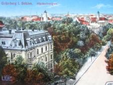 Zielona Góra / Grünberg; Hindenburgstraße; ul. Bankowa
